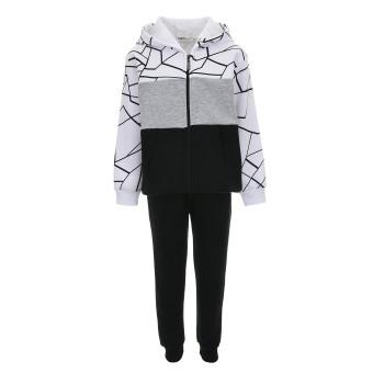 Φόρμα Nekidswear μαύρο με ζακέτα