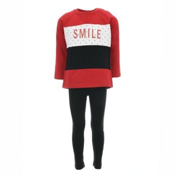 Σύνολο Energiers ''smile'' κόκκινο-μαύρο