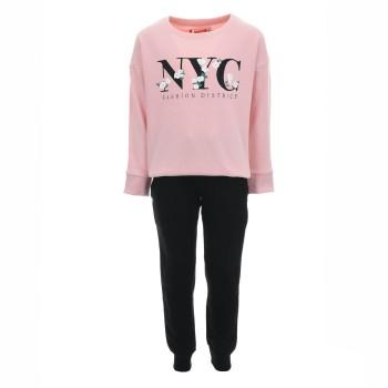 Φόρμα Energiers ροζ-μαυρο φθινοπωρινό