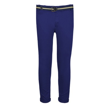Παντελόνι chinos με ζώνη μαρέν