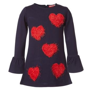 Φόρεμα Energiers  με καρδιές