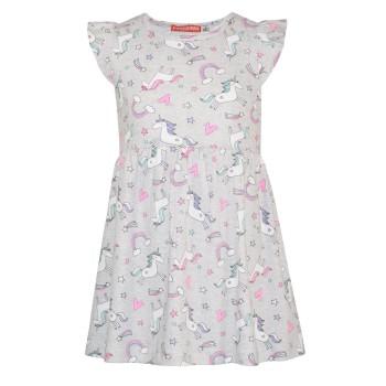 Βαμβακερό φόρεμα με θέμα unicorn