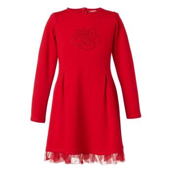 Energiers φόρεμα με τούλινο τελείωμα