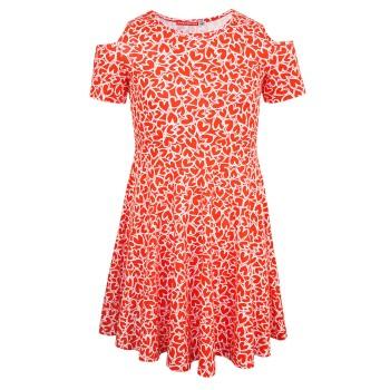 Φόρεμα μακό Energiers κόκκινο