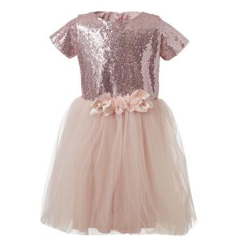Φόρεμα Boutique με παγιέτες και τούλι στο κάτω μέρος