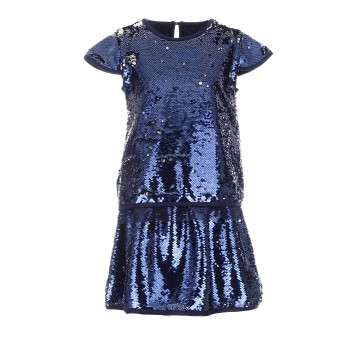 Σετ φούστα και μπλούζα με παγιέτες που αλλάζουν χρώμα