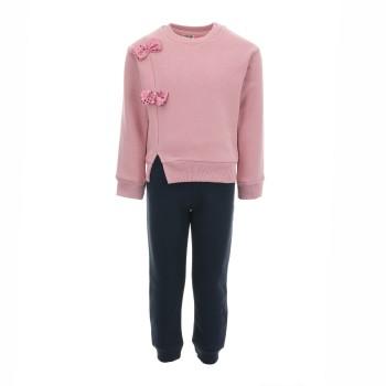 Φόρμα Cotton Planet ροζ-μαρέν