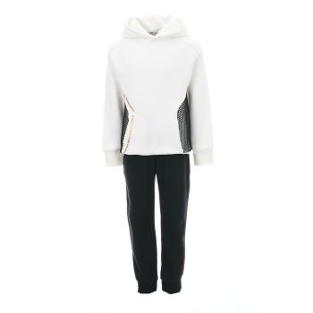 Φόρμα Emery λευκό-μαύρο