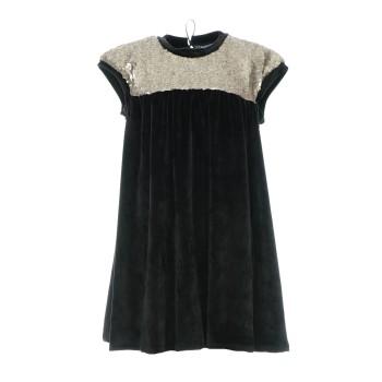 Φόρεμα All Stars μαύρο βελουτέ