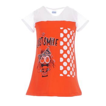 Φόρεμα All stars πορτοκαλί