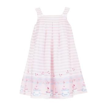 Φόρεμα All stars ροζ ριγέ