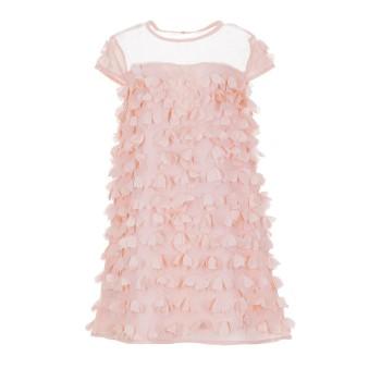Φόρεμα Boboli ροζ λουλουδάκια