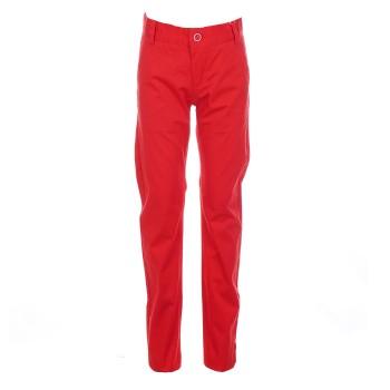 Παντελόνι Boboli κόκκινο
